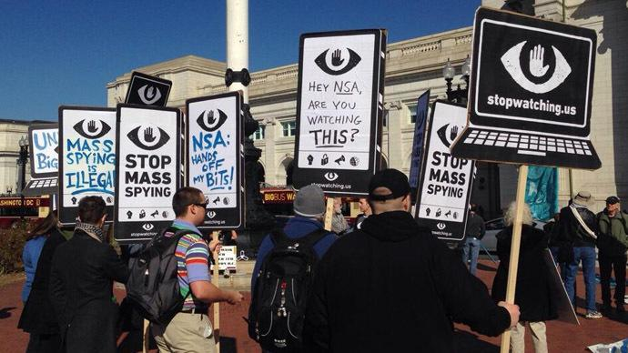 NSA, SOPA, CISPA, PATRIOT Act under fire at rally in Washington, D.C.
