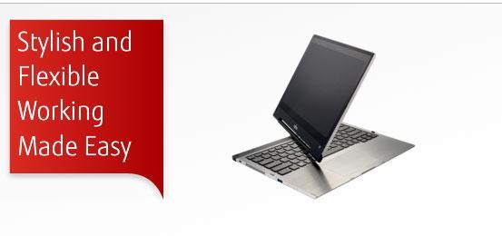 Fujitsu Lifebook T904 ultrabook features convertible 13.3-inch IGZO display