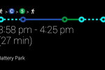 Google Glass XE10 adds Transit directions but no native apps
