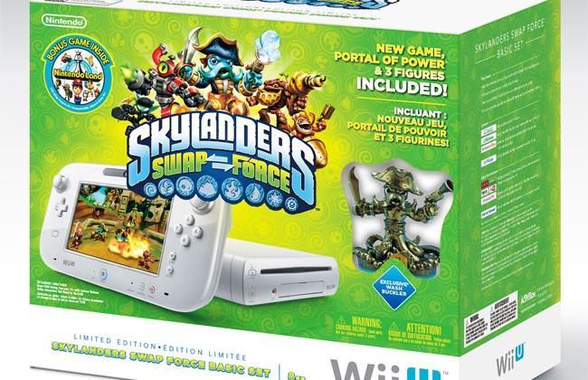 Nintendo Wii U Skylanders SWAP Force bundle launches in November