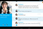 Skype for Android updated to version 4.4, brings redesigned tablet user interface