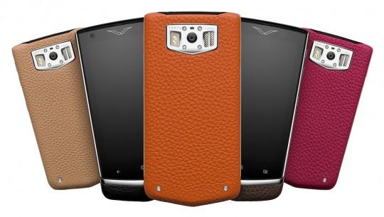 Vertu Constellation smartphone uses sapphire crystal front and Android 4.2