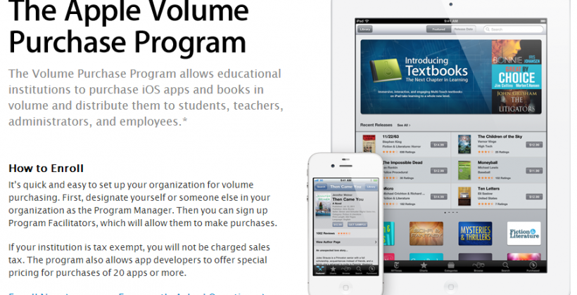 Apple Volume Purchase Program coming to Mac Apps for Education