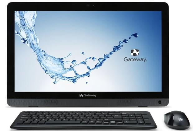 Gateway One ZX4270 AIO features a 19.5-inch HD screen and AMD Vision A4 5000 CPU