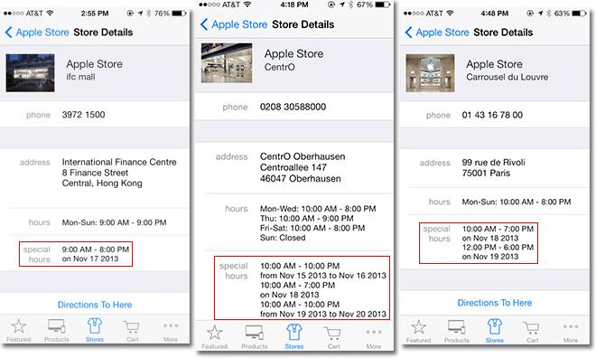 Apple stores to mysteriously close early Nov 17 and 18
