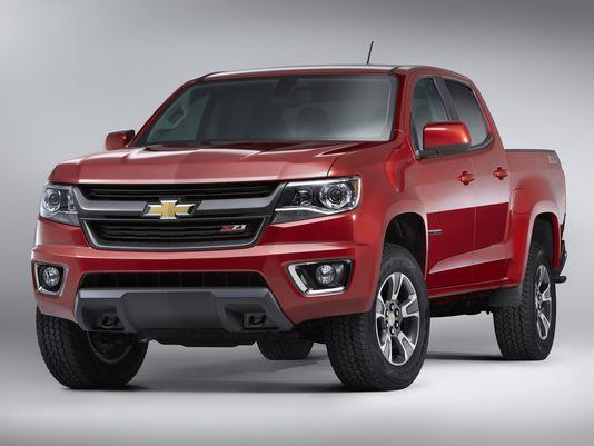 chevy shows off 2015 colorado mid size truck slashgear. Black Bedroom Furniture Sets. Home Design Ideas