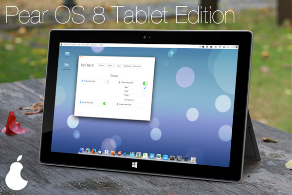 Pear OS 8 brings iOS 7 color, OS X UI to Ubuntu for tablets