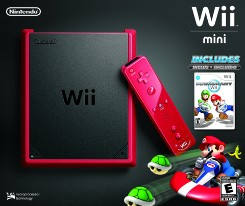 Wii Mini coming to USA with Mario Kart to boot