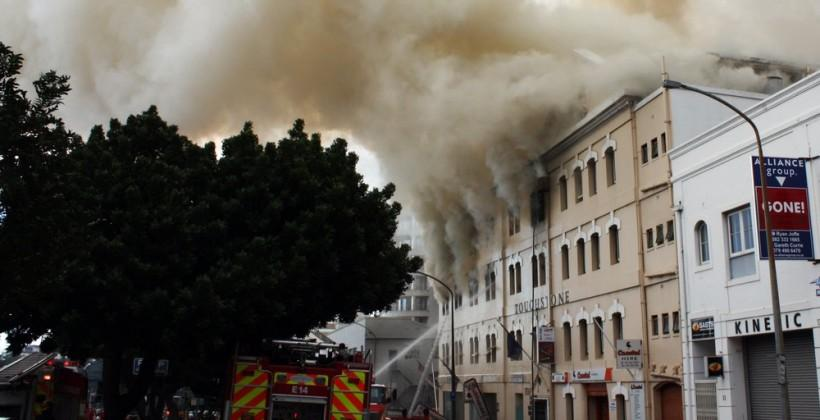 Internet Archive materials and equipment destroyed in fire