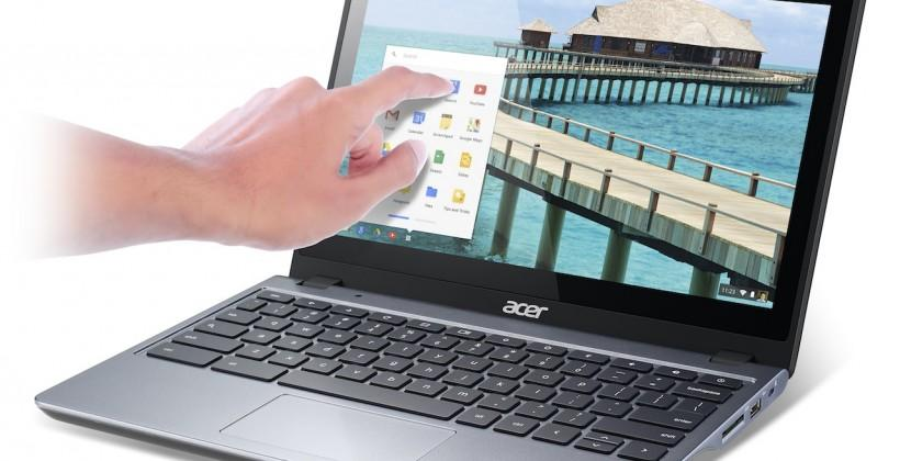 Acer C720P Chromebook adds touch at fraction of Google Pixel