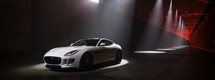 Jaguar F-Type R Coupe packs 550 hp supercharged V8