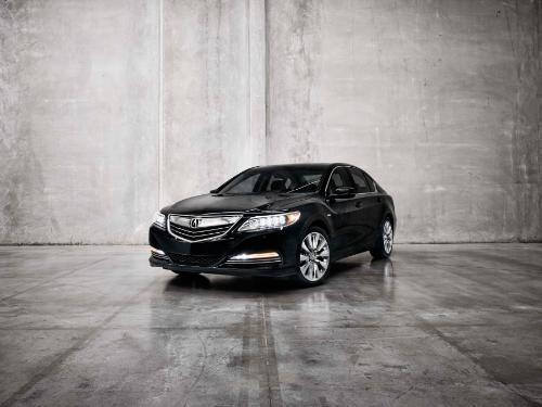 2014 Acura RLX Sport Hybrid SH-AWD rolls into LA Auto Show