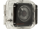 #LC-EN-0005 Rugged Waterproof Case with Looxcie 3 camera inside (Right) Angle- CLEAR Background