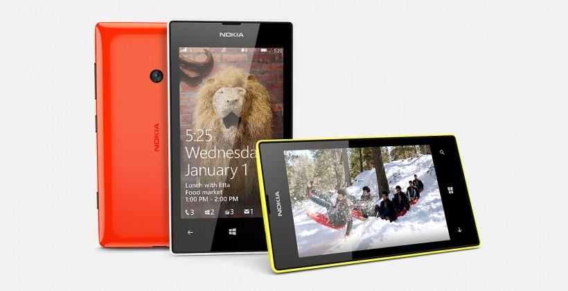 Nokia Lumia 525 has Snapdragon S4 and 4-inch screen