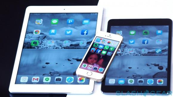 ipad air - mini - iphone 5s