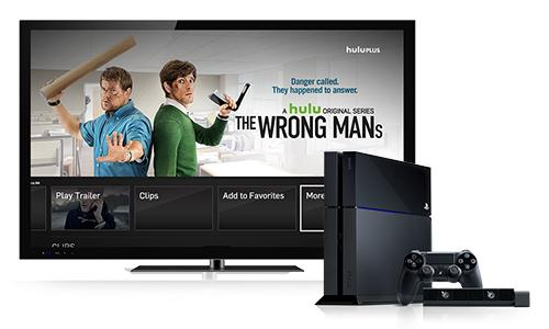 Hulu Plus for PS4 detailed