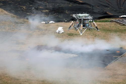 Moon Express completes successful free flight test with NASA Mighty Eagle lander