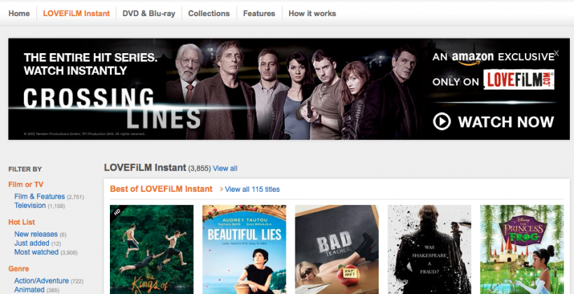 Amazon LOVEFiLM hits iPhone and iPod touch with Airplay in tow