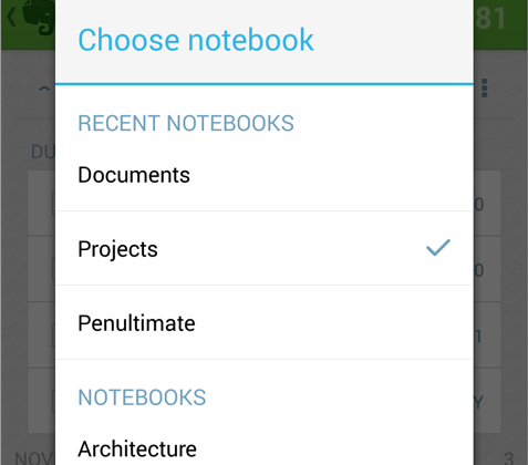 Evernote for Android updated with PDF Summary, Page Camera improvements