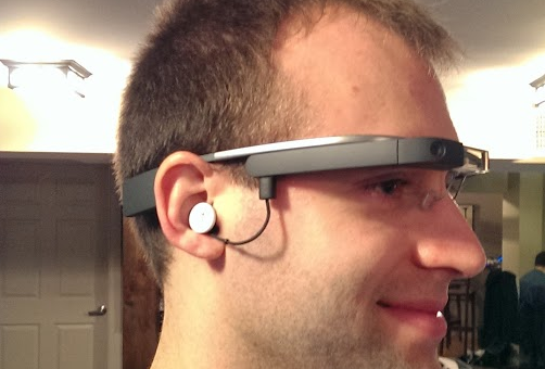 Google Glass' new design shows up with first buyer