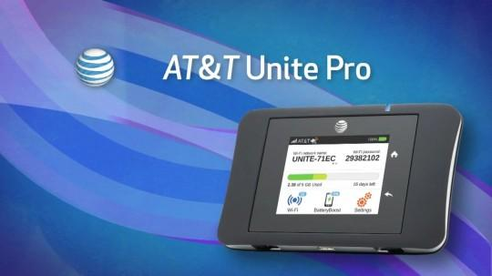 AT&T Unite Pro keeps you connected and charged on the go