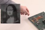 "Flexible plastic image sensor shown in world's first ""Mona Lisa"" demonstration"