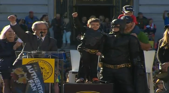 SFBatKid takes over San Francisco with Make-a-Wish Foundation