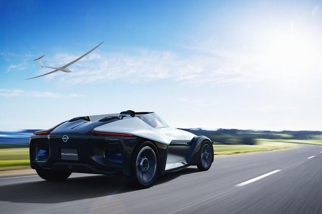 Nissan BladeGlider concept hints at Nissan's EV future