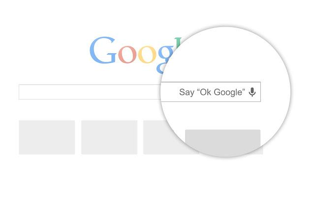 """Chrome """"OK Google"""" extension adds hands-free search"""