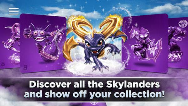 Skylanders Collection Vault application lands for iOS