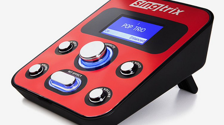 "Singtrix karaoke tech makes your singing voice ""sound like a pro"""