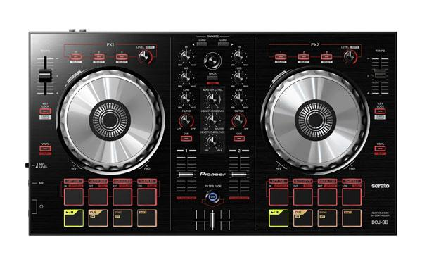 Pioneer DDJ-SB DJ controller supports Serato software