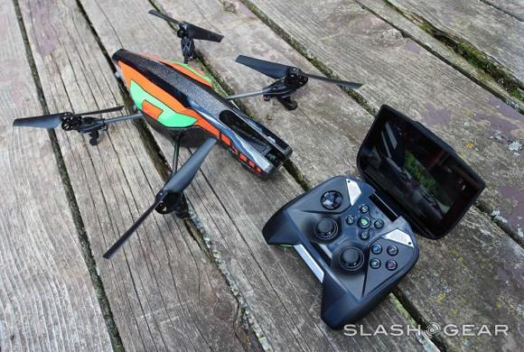how to connect ar drone to android