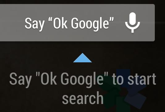 Android KitKat OK Google voice activation not Nexus 5 limited