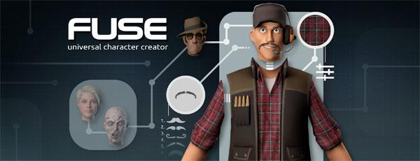 Mixamo Fuse universal expendable 3-D character creator launches on Steam