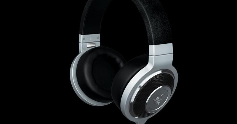 Razer Kraken Forged Edition gaming headphones get machined aluminum ear cups