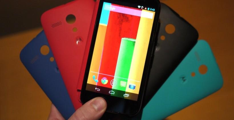 Moto G USA availability begins today: off-contract and GSM