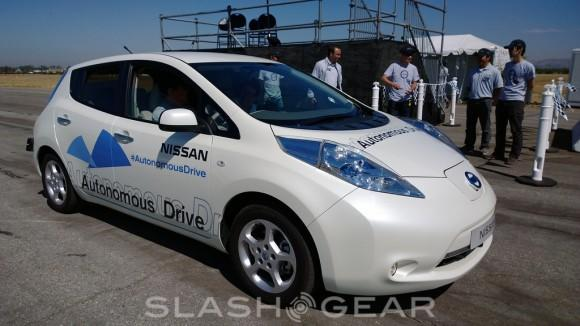 Nissan self-driving car begins real-world testing