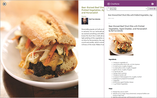 OneNote for Windows 8.1 adds Camera Scan and image OCR