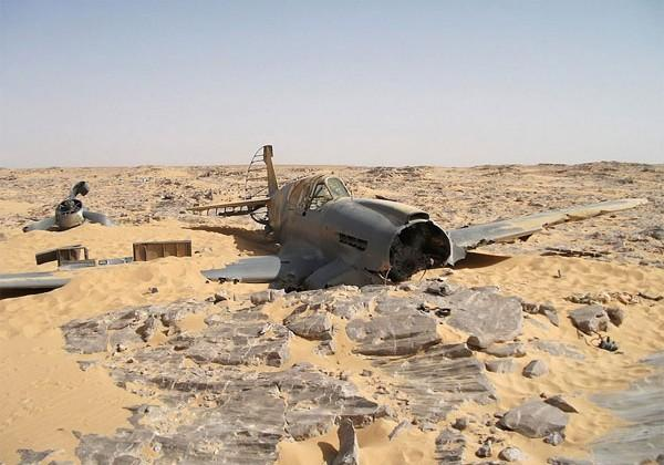 RAF P-40 missing for 70 years found largely intact in Sahara desert