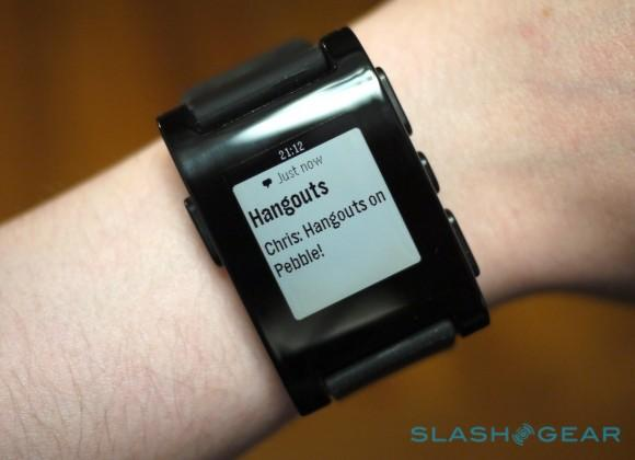 Pebble iOS 7 notifications update live