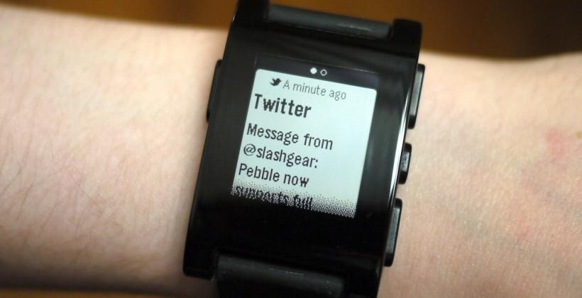 Pebble update brings full iOS 7 notifications; SDK 2.0 ready to roll