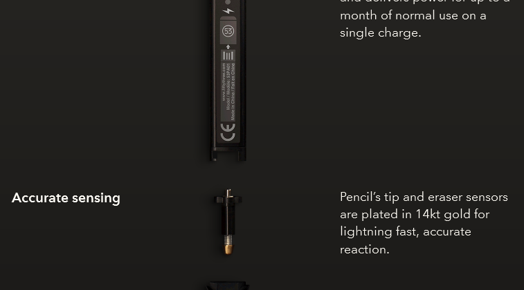 FiftyThree's Pencil is a smart, carpenter-style stylus for iOS Paper