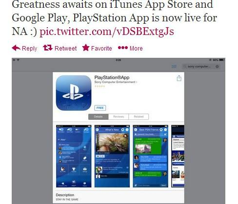PlayStation app launches for iOS and Android in North America