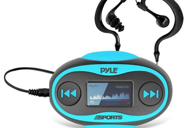 Pyle PSWP25 4 GB waterproof MP3 player has swim fitness functions
