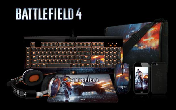 Razer unveils lineup of Battlefield 4 branded gaming peripherals and accessories