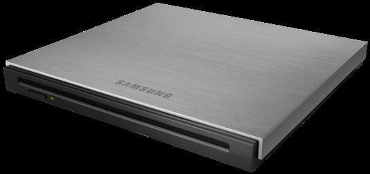 Samsung SE-B18AB portable DVD writer slot loads to save space