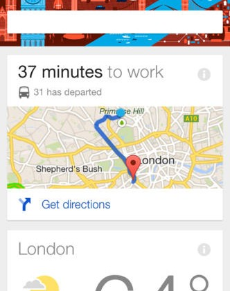 Google Now for iOS adds KitKat voice control and new notifications