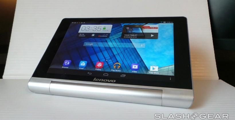 Lenovo Yoga Tablet 8 hands-on