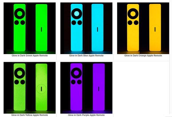 SlickWraps Apple TV remote glow in the dark skins make the